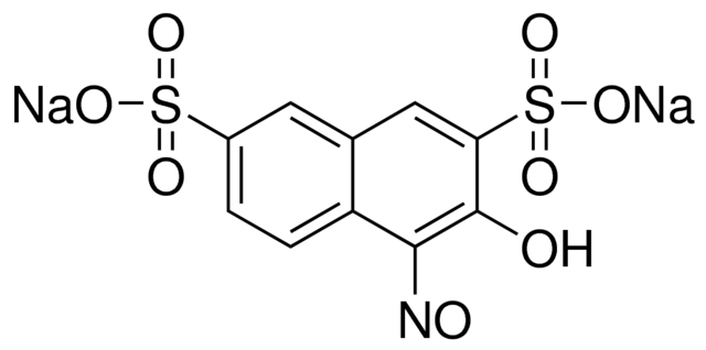 3-Hydroxy-4-nitroso-2,7-naphthalenedisulfonic acid disodium salt